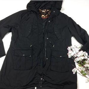 Steve Madden hooded jacket XL